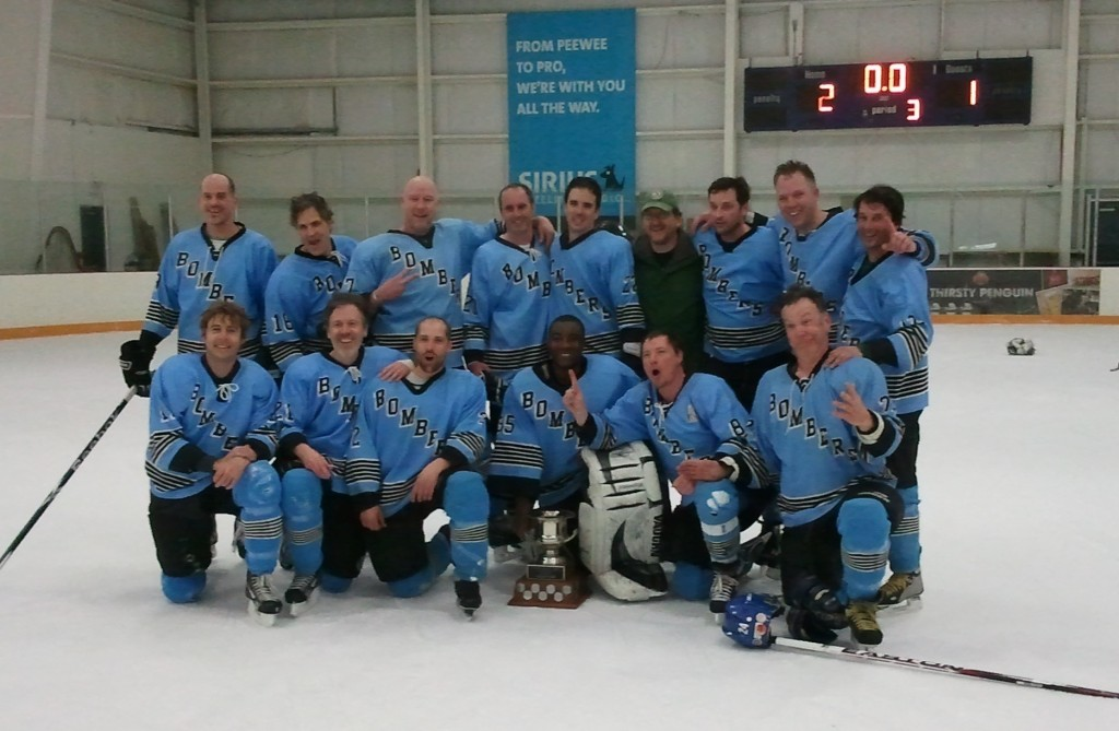 Vancouver Bombers 2012 Duffers Div 2 Men's Hockey Champs
